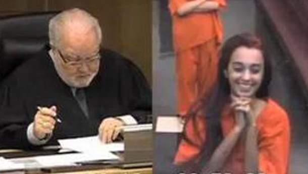 Девушку засудили за смех