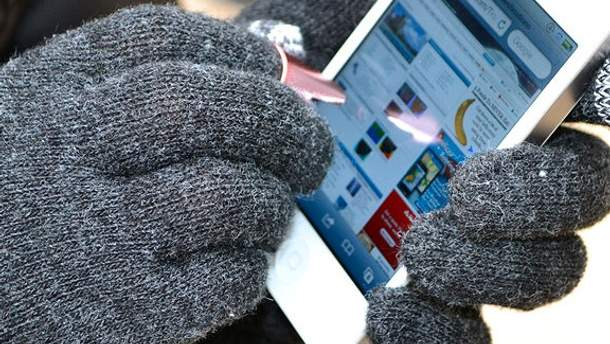 Cтилус-наперсток для користувачів смартфонів і планшетів