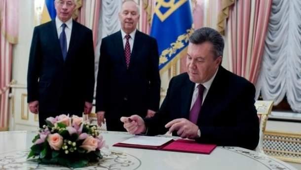Микола Азаров, Віктор Янукович, Володимир Рибак