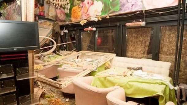 Ресторан після вибуху