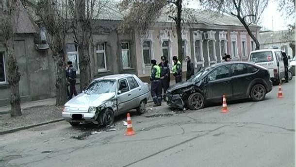 П'яний миколаївський водій влаштував ДТП (Фото)