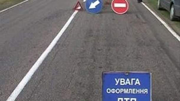На Николаевщине многотонный грузовик попал в ДТП (Видео)