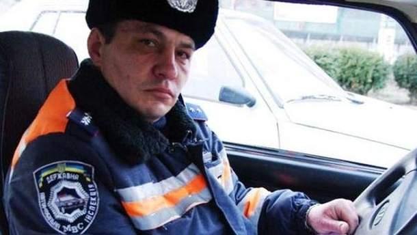 Прапорщик Андрій Бірюк