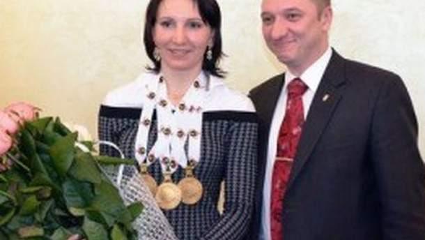 Олена Підгрушна і Олексій Кайда