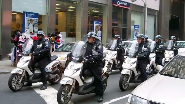 Полицейские Нью-Йорка
