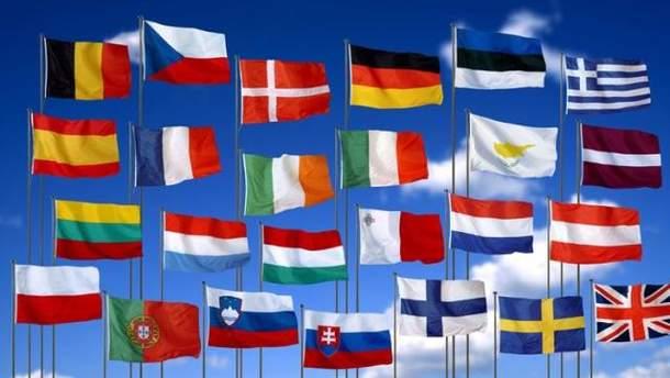 Прапори членів ЄС