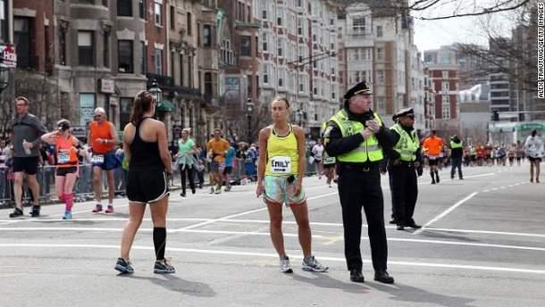 Учасники марафону, яким пощастило не потрапити в зону вибуху