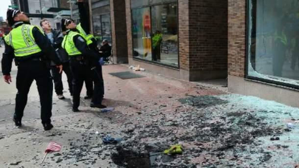 Взрыв на марафоне в Бостоне