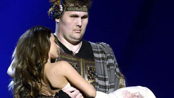"""Злата Огневич на сцені """"Євробачення-2013"""""""