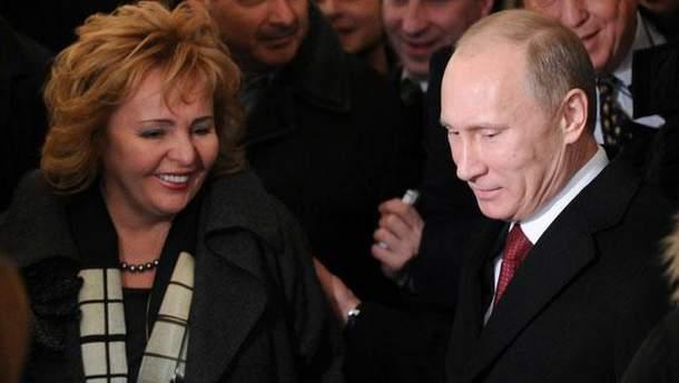 Супруги Путины