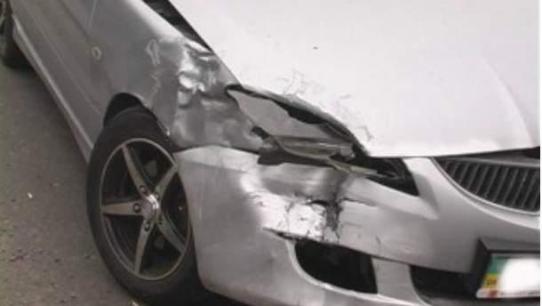 В аварии в Киеве пострадали двое детей (Фото)