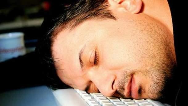 Банкир заснул на клавиатуре