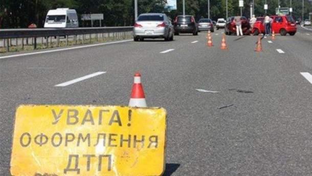 Авария на Львовщине