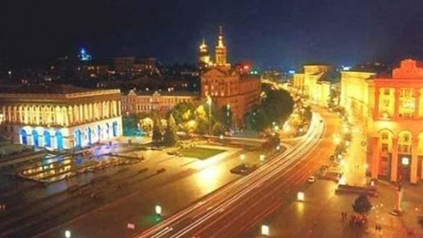 Центр Києва зараз без світла