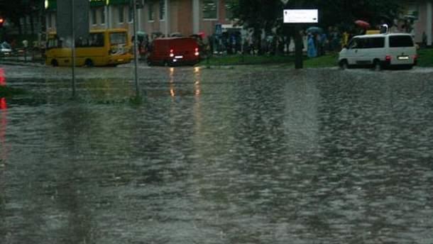 Наслідки зливи