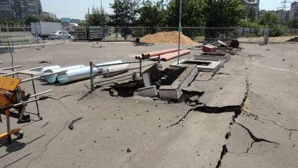 В Мариуполе на заправке прогремел взрыв. Два человека пострадали