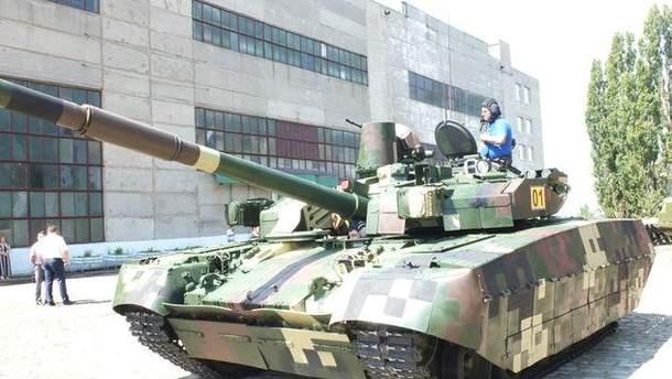 "Серійний танк ""Оплот"""
