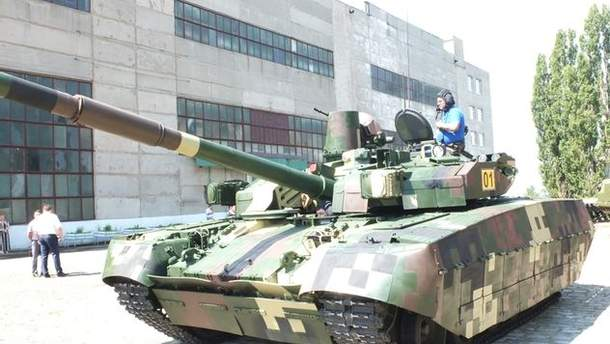 """Серийный танк """"Оплот"""""""