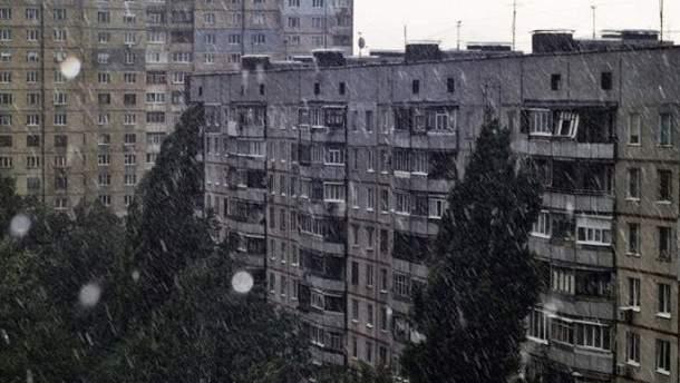 Дождь в Харькове