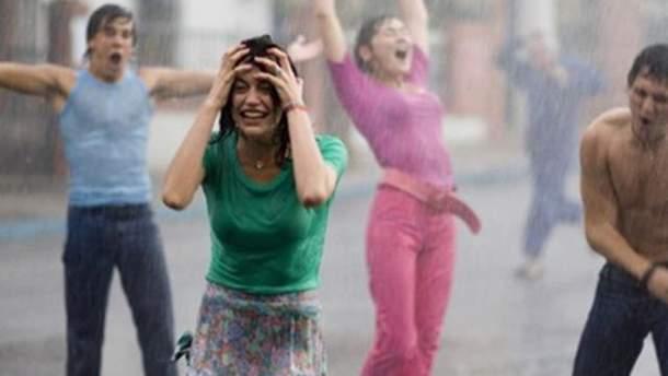 На вихідних дощитиме