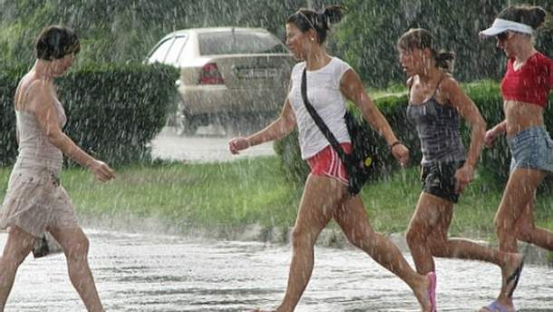 В Украине обещают дожди