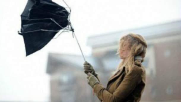 Сильний вітер