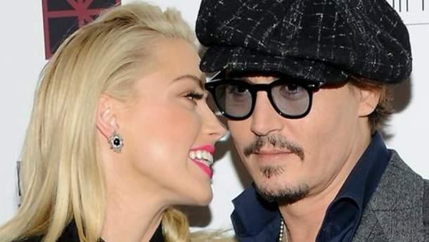 Джонни Депп засветился с новой любовницей в Москве