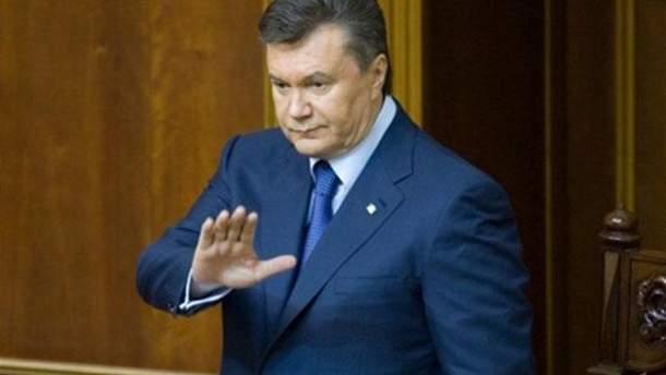 Виктор Янукович в Раде