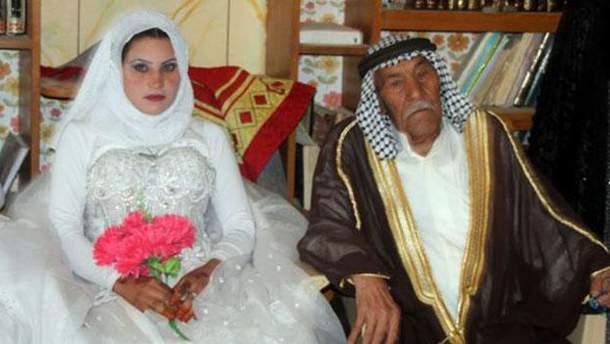Свадьба 92-летнего иранца и его 22-летней невесты