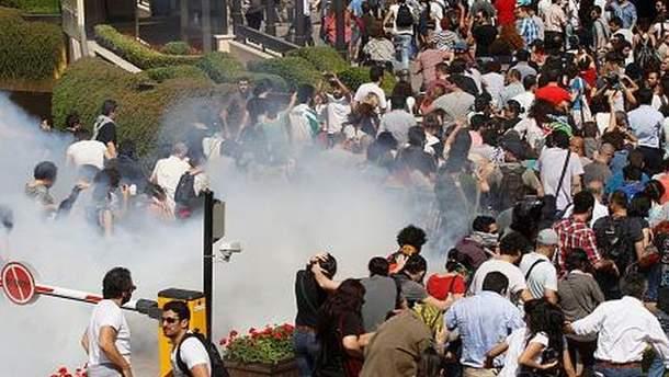Протести у Стамбулі