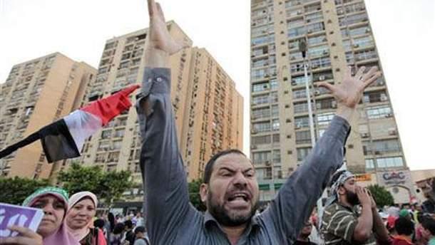 Протесты в Каире