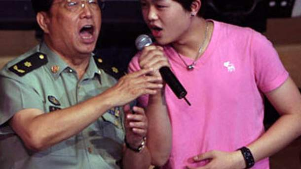 Лі Шуанцзян з сином