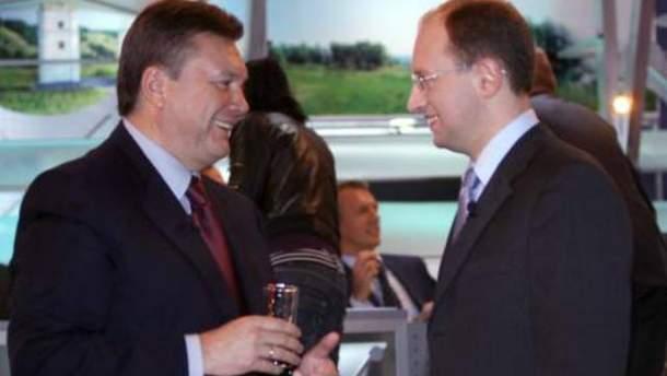Янукович и Яценюк