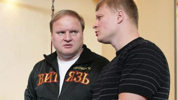 Володимир Хрюнов і Олександр Повєткін
