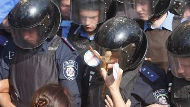 Киевсовет брали штурмом