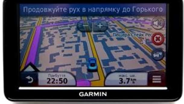 """Навігатор Garmin Nuvi з картами """"Аероскан"""""""