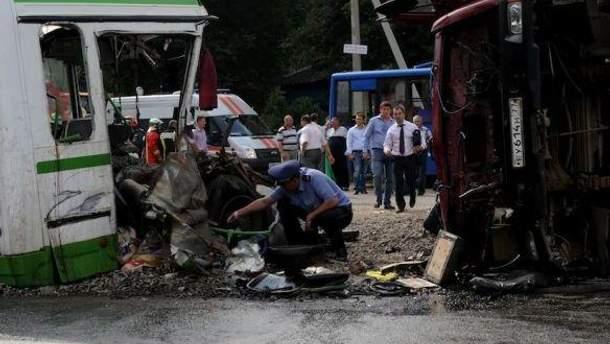 Авария под Москвой