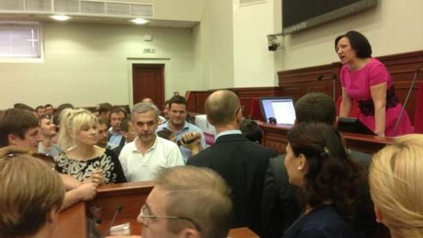 Блокування роботи Київради