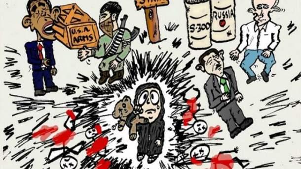 Росія у карикатурах західних художників