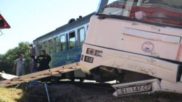 Аварія у Хорватії