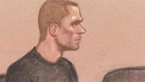 Изображение Павла Лапшина во время заседания суда
