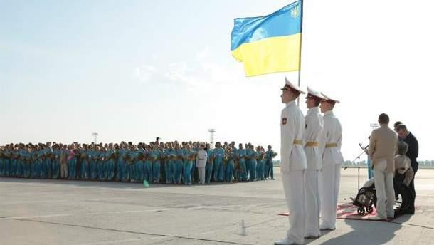 Украинская команда Дефлимпийских игр