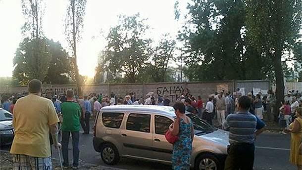 Сегодняшние протестующие на Березняках