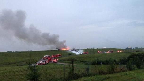 Авария самолета в Алабаме