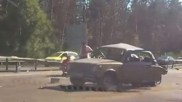 Аварія на трасі Київ-Одеса