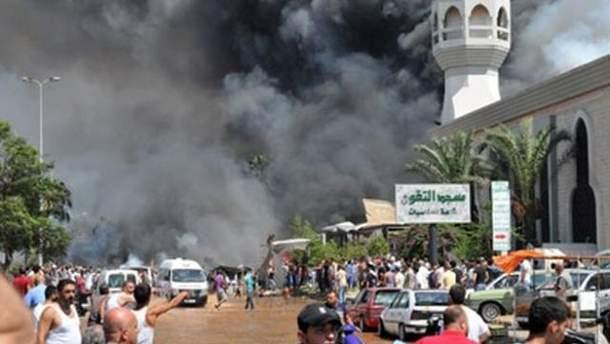 Теракт в Триполи