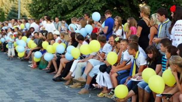 Дніпропетровськ вирішив відзначити свято рекордом