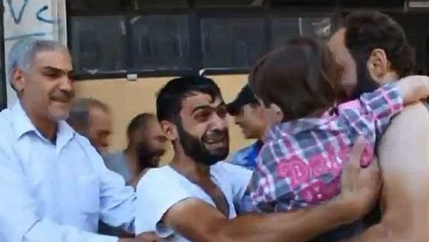 Зустріч сирійця із сином