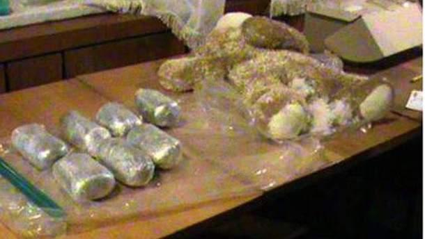 Ведмедик начинений марихуаною