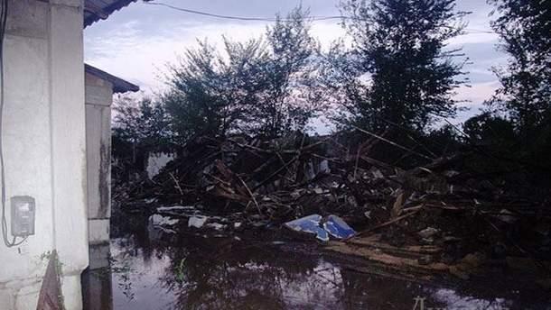 Потоп в Одесской области 12-13 сентября
